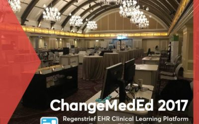 Regenstrief Team at ChangeMedEd 2017: Inside the Solution Center